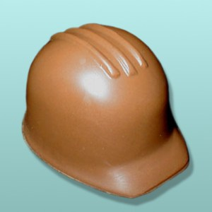 Chocolate Construction Hard Hat Party Favor