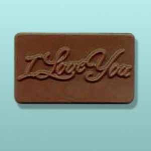Chocolate I Love You Mini Card Favor