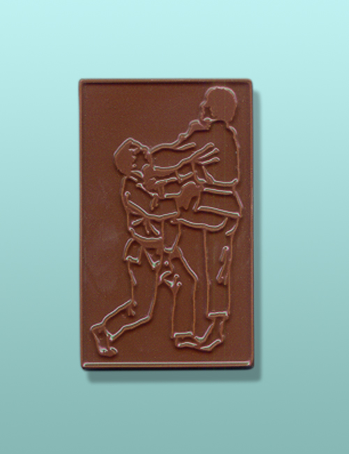 Chocolate Martial Arts Karate Fight Favor