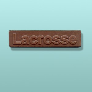 Chocolate Lacrosse Candy Bar