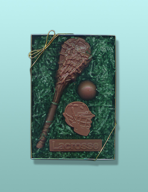 4 pc. Chocolate Lacrosse Gift Set