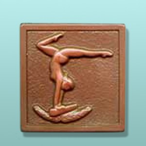 CHOCOLATE GYMNAST PARTY FAVORS