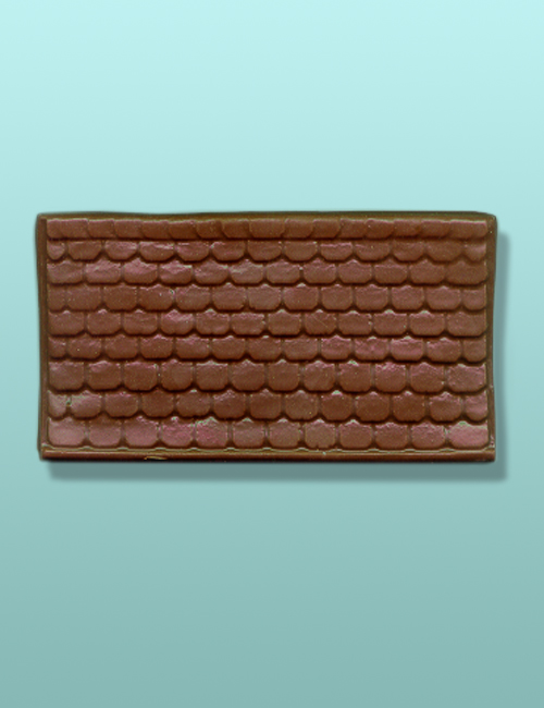 Large Roof Top Chocolate Plaque