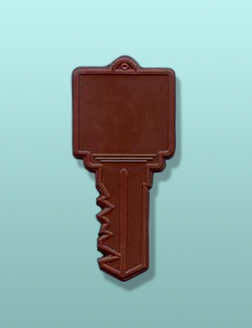 Chocolate Large Square Key