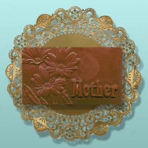 Chocolate Mother's Day Daisy Plaque