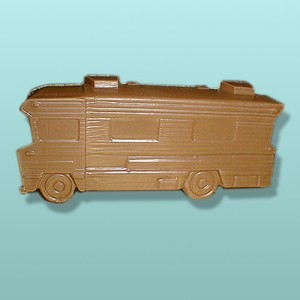 3D Chocolate RV Motorhome