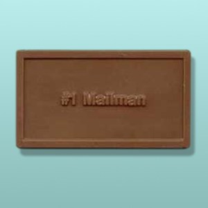 Chocolate #1 Mailman Mini Card Favor