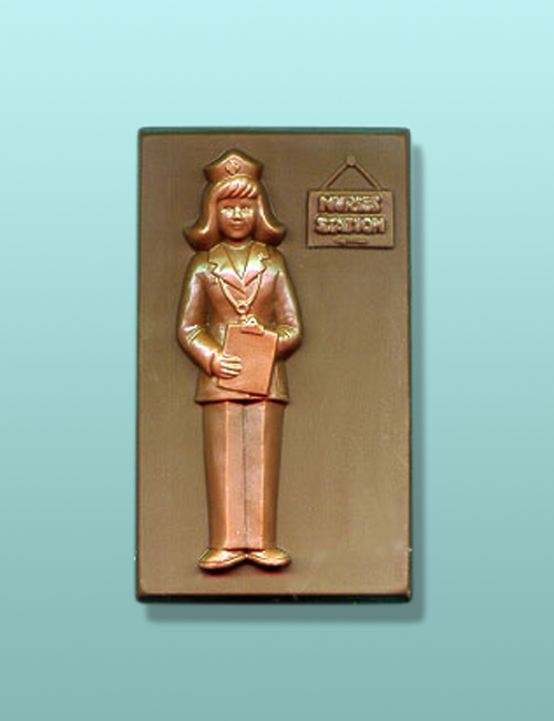 Chocolate Nurses Station Plaque