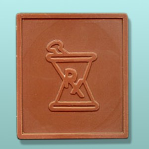 Chocolate Rx Pharmacy Plaque