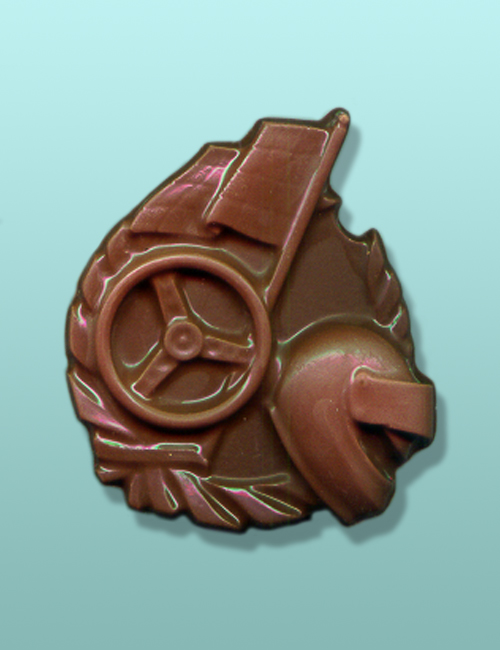 Chocolate Racing Car Emblem Favor