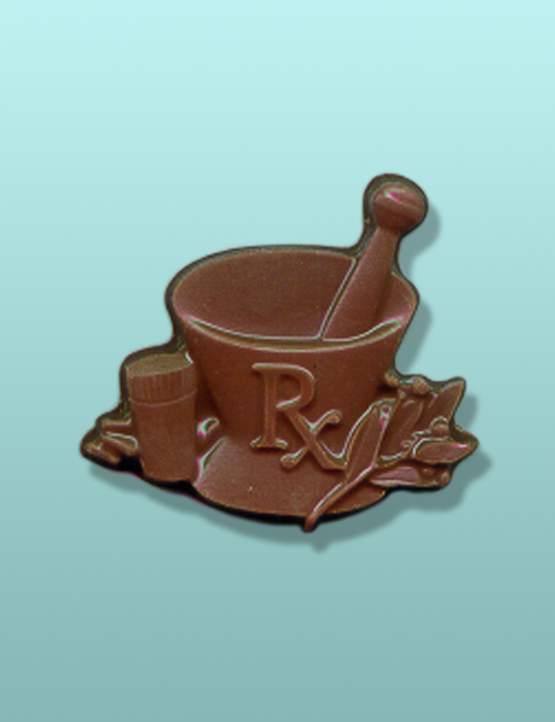 Chocolate Rx Mortar and Pestle Favor