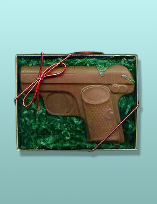 Chocolate Secret Agent Gun Gift Set