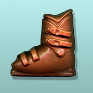 Chocolate Ski Boot Party Favor