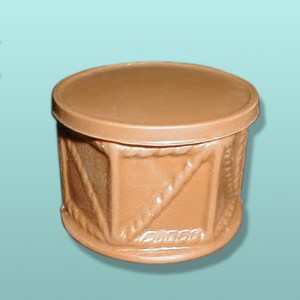 3D Chocolate Base Drum