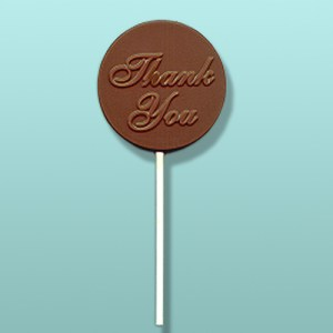 Thank You Chocolate Round Party Favor
