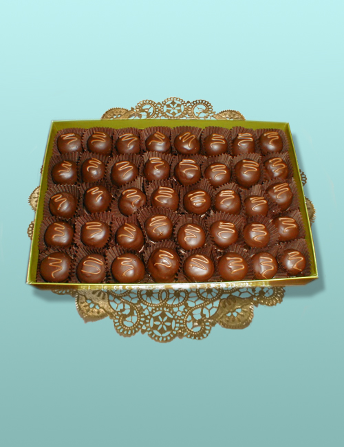 Grand Marnier Truffle Assortment - 1 Layer