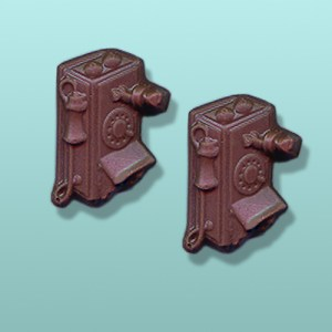 Chocolate Antique Telephone Party Favor