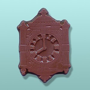 Chocolate Antique Wall Clock Party Favor