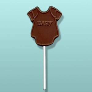 Chocolate Baby Onesie Party Favor
