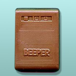 Chocolate Beeper Party Favor