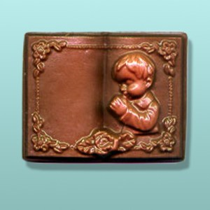 Boy's Communion Chocolate Book