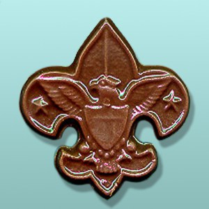 CHOCOLATE SCOUT FAVORS