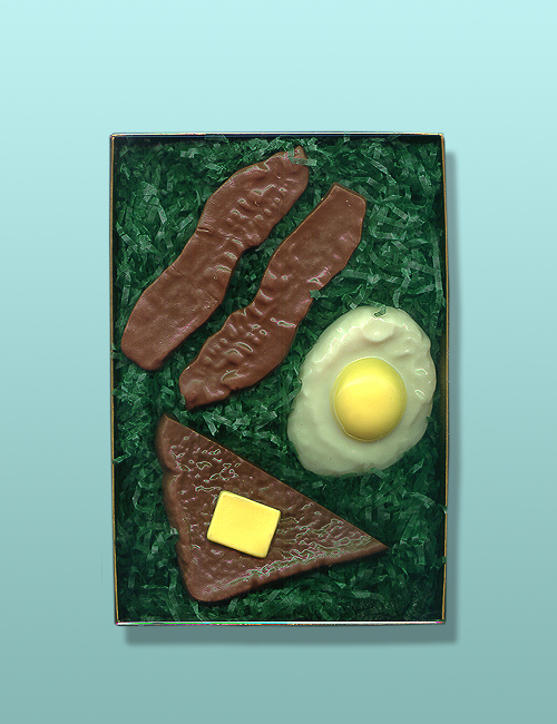Chocolate Bacon and Eggs Breakfast Gift Set