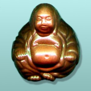 Chocolate Buddha Party Favor