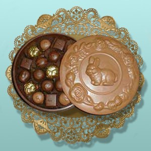 EDIBLE CHOCOLATE EASTER BOXES