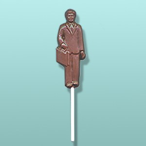 Chocolate Business Man Party Favor