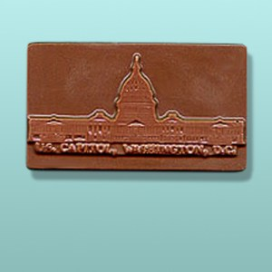 Chocolate U.S. Capitol Bar Favor