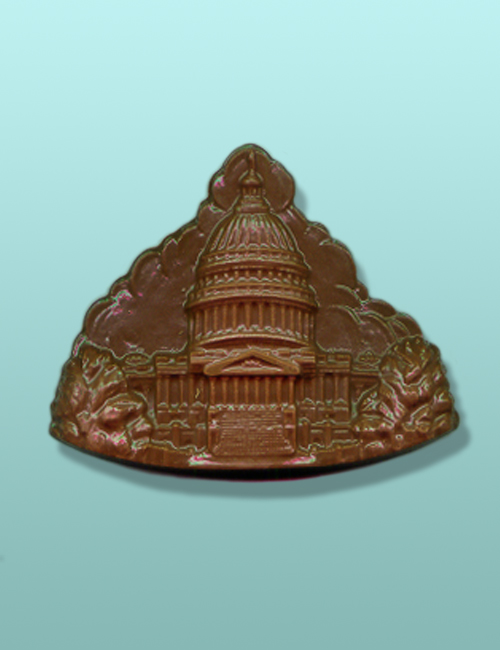 Chocolate Capitol Building Plaque