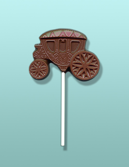 Chocolate Carriage Party Favor