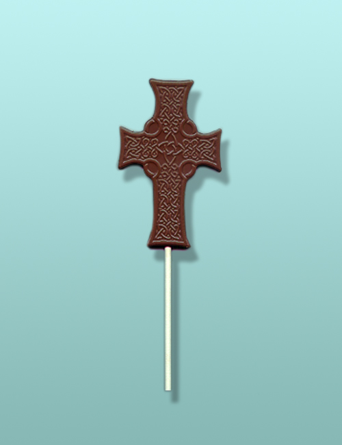 Chocolate Celtic Cross Lolly Favor