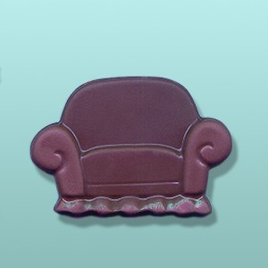 Chocolate Overstuffed Chair Party Favor