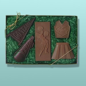 Chocolate Cheerleader Gift Set