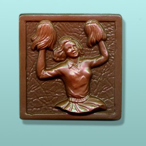 CHOCOLATE CHEERLEADER FAVORS
