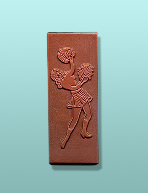 Chocolate Cheerleader Candy Bar Favor