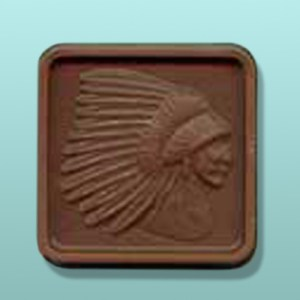Chocolate Indian Chief Head