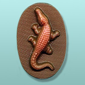 Chocolate Alligator Oval Favor