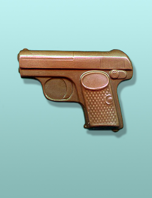Chocolate Secret Agent Special Gun Favor