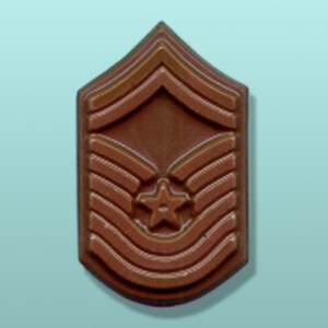 Chocolate Chief Master Sergeant Chevron