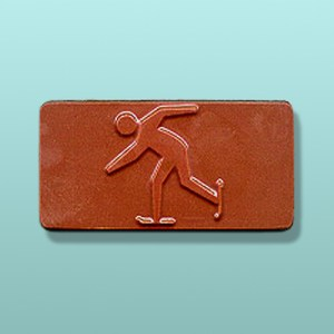 Chocolate Cross Country Skier Favor