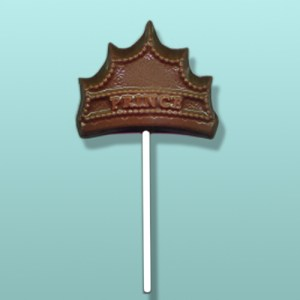 Chocolate Prince Crown Party Favor