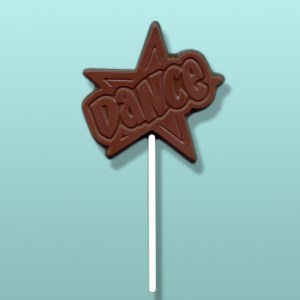 Chocolate Dance Star Party Favor