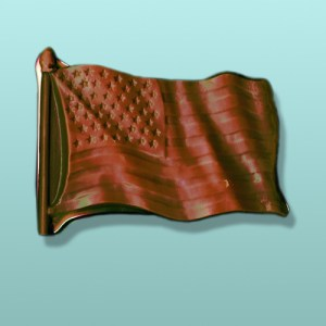 Chocolate American Flag