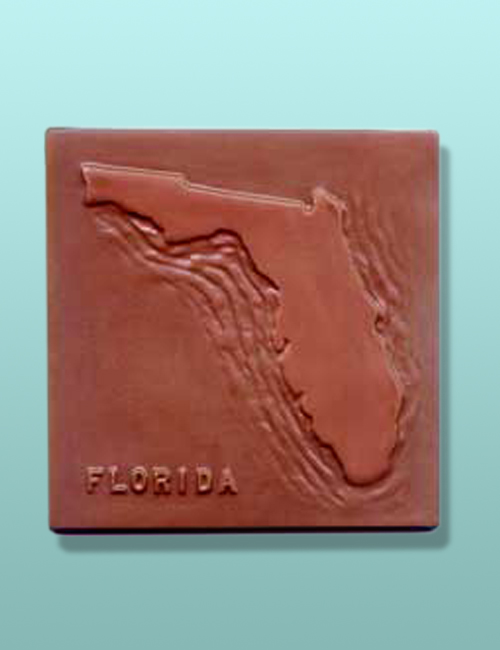 Chocolate Florida State Plaque