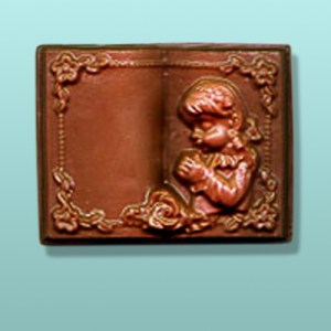 Girl Communion Chocolate Book