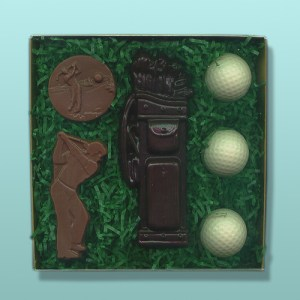 6 pc. Chocolate Golf Gift Set