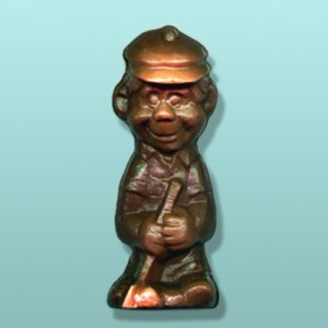 3D Solid Chocolate Golfer